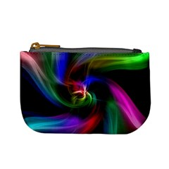 Abstract Art Color Design Lines Mini Coin Purses