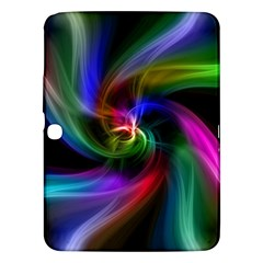 Abstract Art Color Design Lines Samsung Galaxy Tab 3 (10 1 ) P5200 Hardshell Case