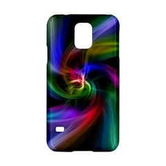 Abstract Art Color Design Lines Samsung Galaxy S5 Hardshell Case  by Nexatart