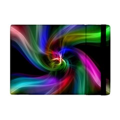 Abstract Art Color Design Lines Ipad Mini 2 Flip Cases by Nexatart