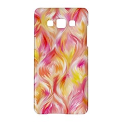 Pretty Painted Pattern Pastel Samsung Galaxy A5 Hardshell Case  by Nexatart