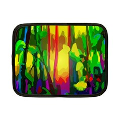 Abstract Vibrant Colour Botany Netbook Case (small)  by Nexatart