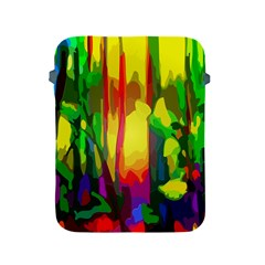 Abstract Vibrant Colour Botany Apple Ipad 2/3/4 Protective Soft Cases by Nexatart