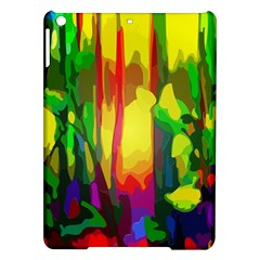 Abstract Vibrant Colour Botany Ipad Air Hardshell Cases by Nexatart