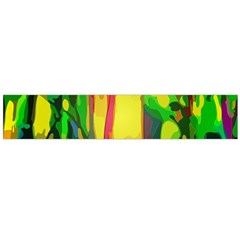 Abstract Vibrant Colour Botany Flano Scarf (large) by Nexatart
