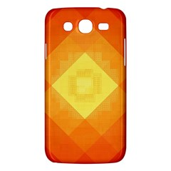 Pattern Retired Background Orange Samsung Galaxy Mega 5 8 I9152 Hardshell Case  by Nexatart