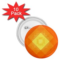 Pattern Retired Background Orange 1 75  Buttons (10 Pack) by Nexatart