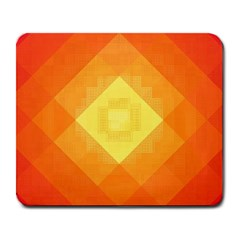 Pattern Retired Background Orange Large Mousepads by Nexatart