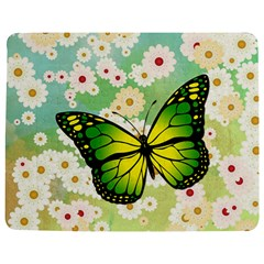 Green Butterfly Jigsaw Puzzle Photo Stand (rectangular) by linceazul