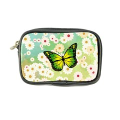 Green Butterfly Coin Purse by linceazul