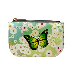 Green Butterfly Mini Coin Purses by linceazul