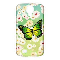 Green Butterfly Samsung Galaxy S4 Classic Hardshell Case (pc+silicone) by linceazul