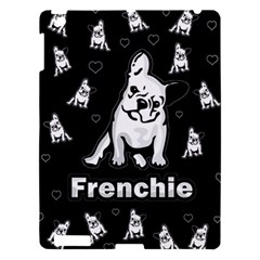 Frenchie Apple Ipad 3/4 Hardshell Case by Valentinaart