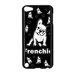 Frenchie Apple Ipod Touch 5 Case (black) by Valentinaart