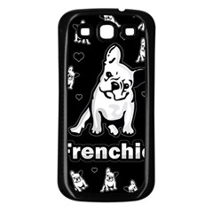 Frenchie Samsung Galaxy S3 Back Case (black)