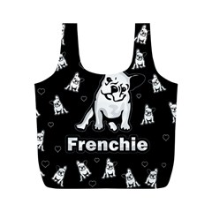 Frenchie Full Print Recycle Bags (m)