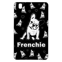 Frenchie Samsung Galaxy Tab Pro 8 4 Hardshell Case by Valentinaart
