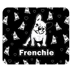Frenchie Double Sided Flano Blanket (small)