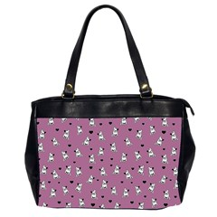 French Bulldog Office Handbags (2 Sides)  by Valentinaart