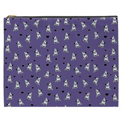 French Bulldog Cosmetic Bag (xxxl)  by Valentinaart