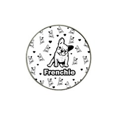 French Bulldog Hat Clip Ball Marker