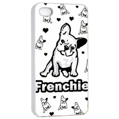 French Bulldog Apple Iphone 4/4s Seamless Case (white)