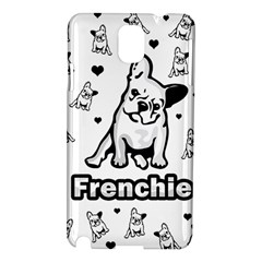 French Bulldog Samsung Galaxy Note 3 N9005 Hardshell Case by Valentinaart