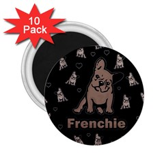 French Bulldog 2 25  Magnets (10 Pack)  by Valentinaart