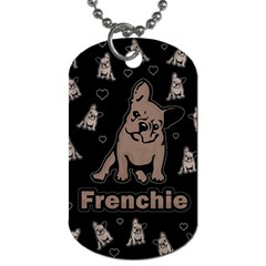 French Bulldog Dog Tag (two Sides)