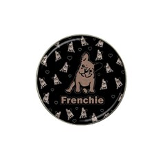 French Bulldog Hat Clip Ball Marker by Valentinaart