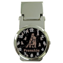 French Bulldog Money Clip Watches by Valentinaart