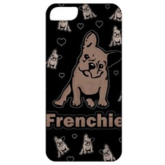 French Bulldog Apple Iphone 5 Classic Hardshell Case by Valentinaart