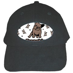 French Bulldog Black Cap by Valentinaart