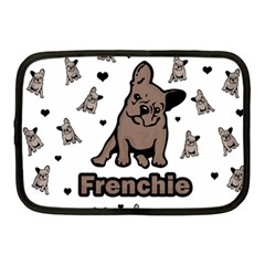 French Bulldog Netbook Case (medium)