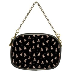 French Bulldog Chain Purses (two Sides)