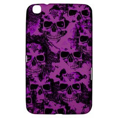 Cloudy Skulls Black Purple Samsung Galaxy Tab 3 (8 ) T3100 Hardshell Case  by MoreColorsinLife