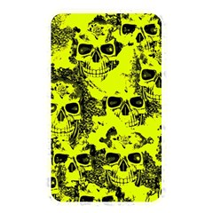 Cloudy Skulls Black Yellow Memory Card Reader by MoreColorsinLife