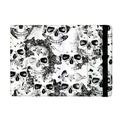 Cloudy Skulls B&w Ipad Mini 2 Flip Cases by MoreColorsinLife