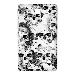 Cloudy Skulls B&w Samsung Galaxy Tab 4 (8 ) Hardshell Case  by MoreColorsinLife