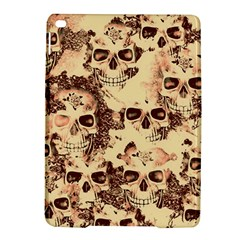 Cloudy Skulls Beige Ipad Air 2 Hardshell Cases by MoreColorsinLife