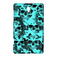 Cloudy Skulls Aqua Samsung Galaxy Tab S (8 4 ) Hardshell Case  by MoreColorsinLife