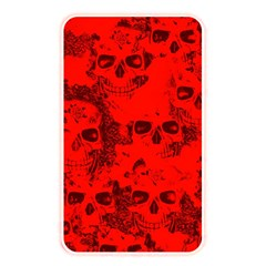 Cloudy Skulls Red Memory Card Reader by MoreColorsinLife