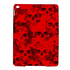 Cloudy Skulls Red Ipad Air 2 Hardshell Cases by MoreColorsinLife
