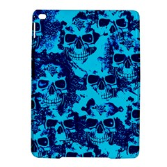 Cloudy Skulls Blue Ipad Air 2 Hardshell Cases by MoreColorsinLife
