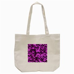 Cloudy Skulls Pink Tote Bag (cream) by MoreColorsinLife