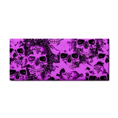 Cloudy Skulls Pink Cosmetic Storage Cases by MoreColorsinLife