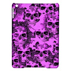 Cloudy Skulls Pink Ipad Air Hardshell Cases by MoreColorsinLife