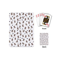 French Bulldog Playing Cards (mini)  by Valentinaart