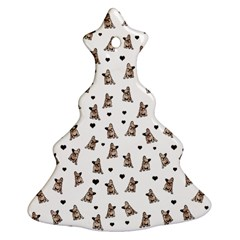 French Bulldog Christmas Tree Ornament (two Sides)