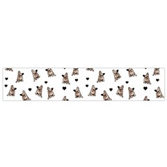 French Bulldog Flano Scarf (small)
